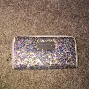 Betsey Johnson sequin wallet